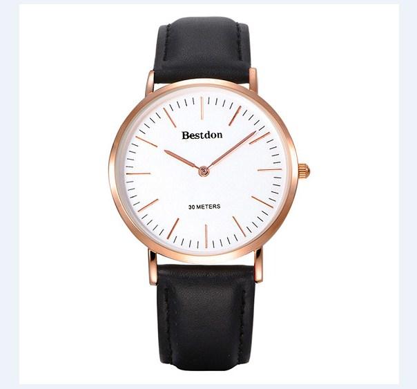 Đồng hồ nam Bestdon BD5530G màu đen cá tính