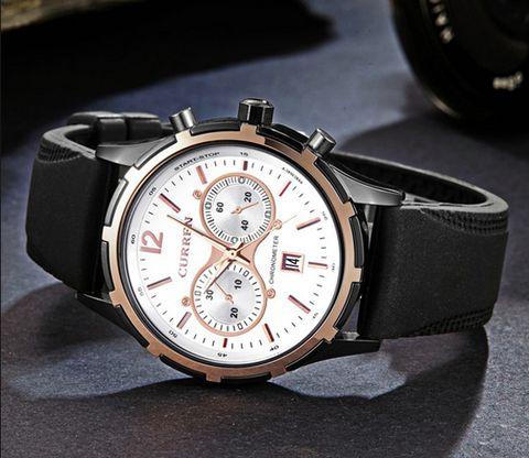 Đồng hồ nam dây kim loại Curren 8091