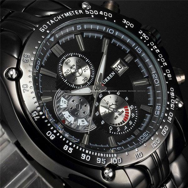 Đồng hồ nam CURREN dây thép không gỉ CR8257
