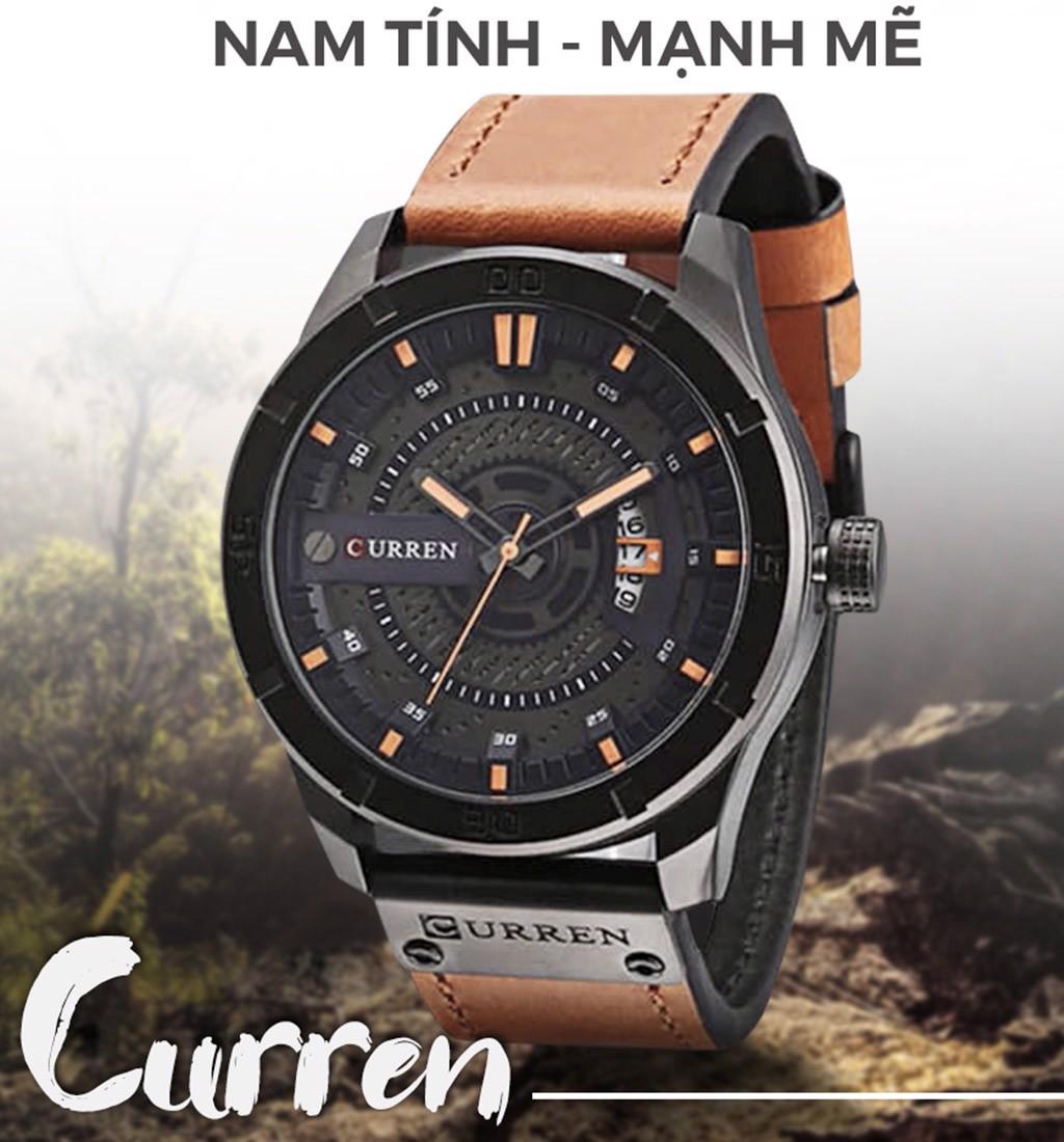 Đồng hồ nam dây thép không gỉ Curren 80K1N91