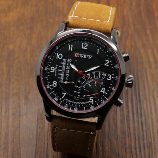 Đồng hồ nam dây da Curren 8123