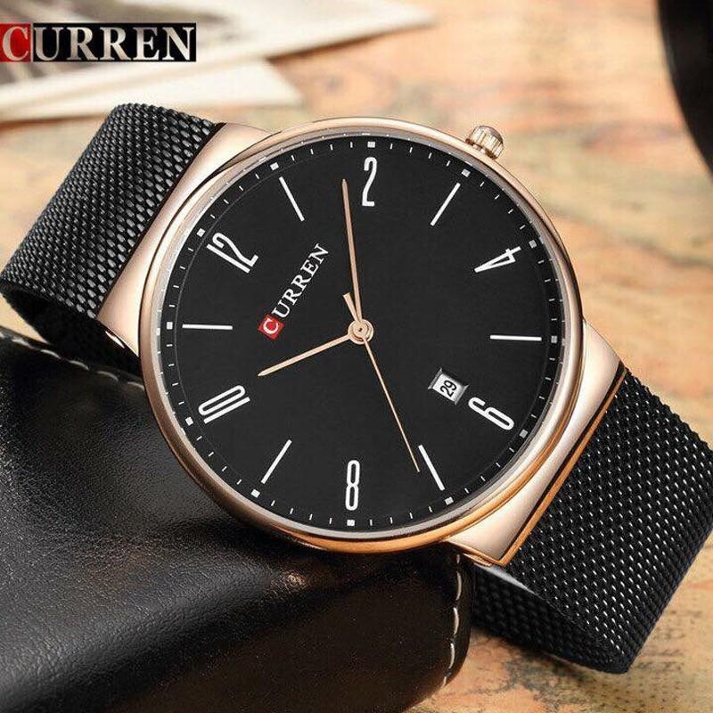 Đồng hồ nam dây da cao cấp CURREN 8251