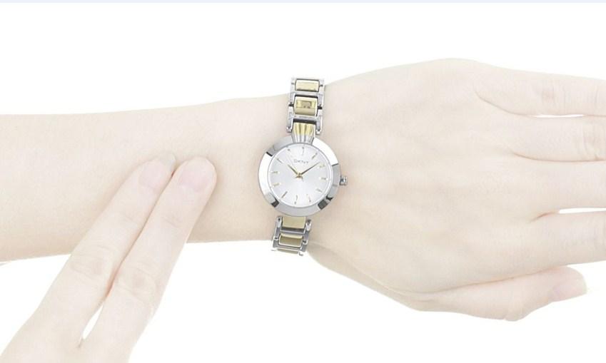 Đồng hồ DKNY NY2401 thuộc dòng Stanhope Silver Dial Ladies hướng đến sự mềm mại
