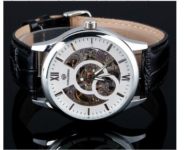 Đồng hồ cơ dành cho nam cao cấp Forsining A708