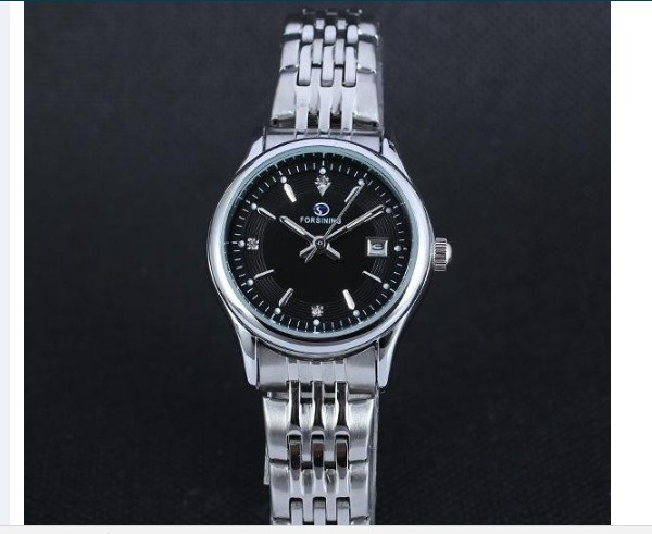 Đồng hồ nữ Goges Forsining cơ tự động (BlackSilver)