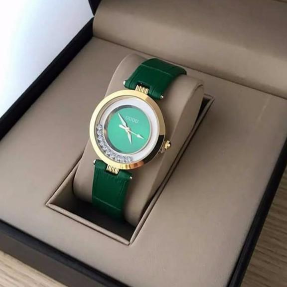 Đồng hồ dây da Guou G2017