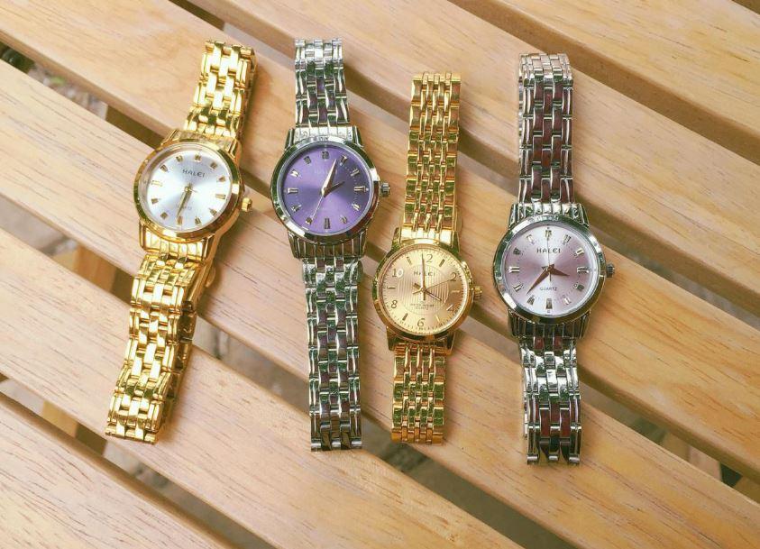 Đồng hồ mang thương hiệu Halei có mức giá rất hợp lý