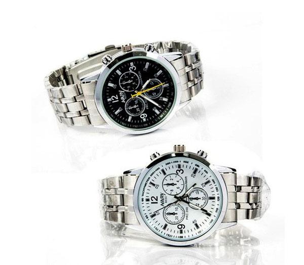 Đồng hồ nam dây inox Nary 6033