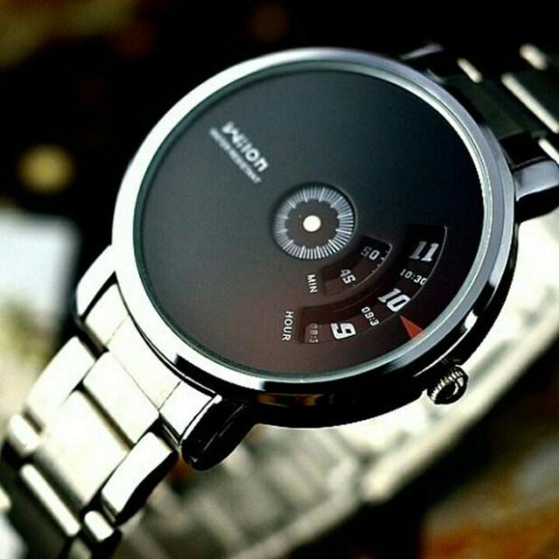 Đồng hồ nam Wilon W938 dây thép