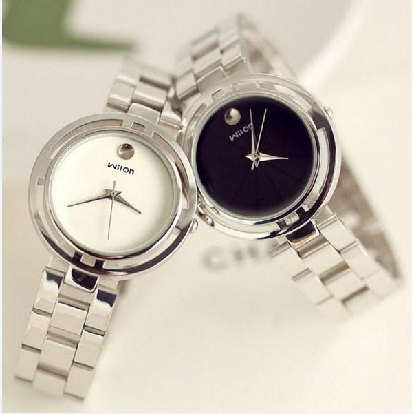 Đồng hồ nữ Wilon 86KCN7 dây inox