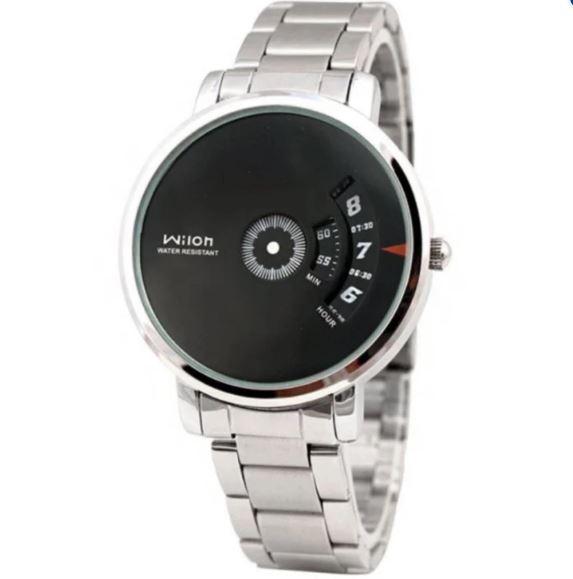 Đồng hồ nam dây thép không gỉ Wilon 938