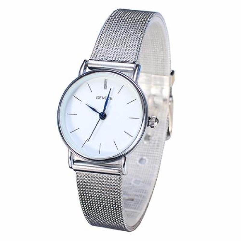 Đồng hồ nữ dây hợp kim Geneva BS038_SV9721