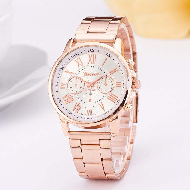 Đồng hồ nữ dây hợp kim Geneva AN040 GD3577