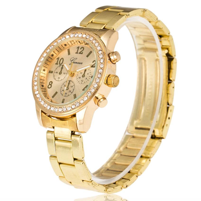 Đồng hồ nữ dây hợp kim Geneva PKHRGE005-1 (Vàng)