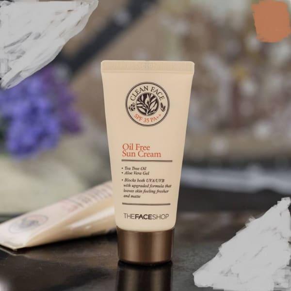 kem nền Clean Face Oil Free BB Cream