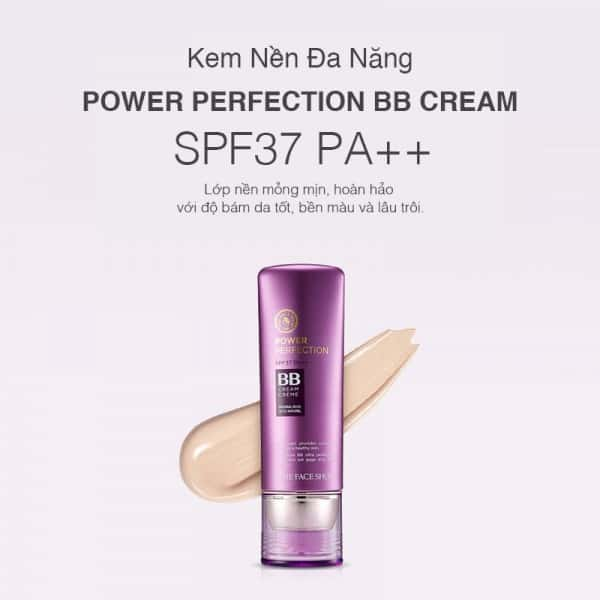 kem nền BB Cream The Face Shop Power Perfection SPF37