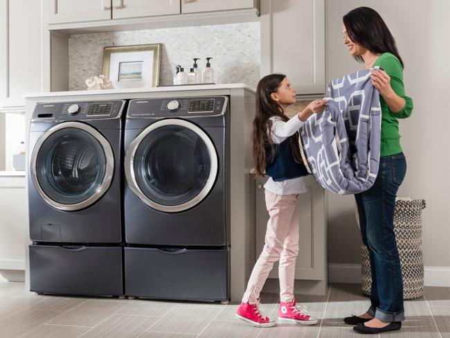 khối lượng giặt lớn của máy giặt electrolux