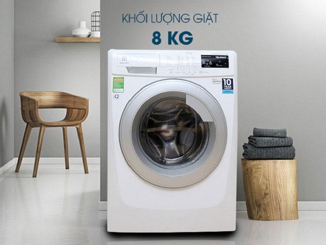 Máy Giặt Cửa Trước Inverter Electrolux EWF12844 8kg
