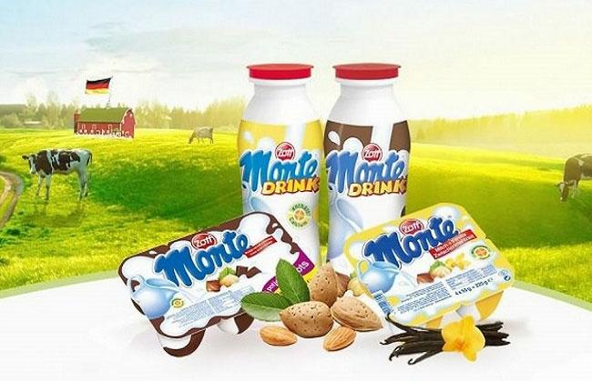 sản phẩm váng sữa Monte