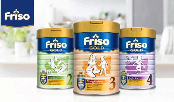 Sữa Friso Nga