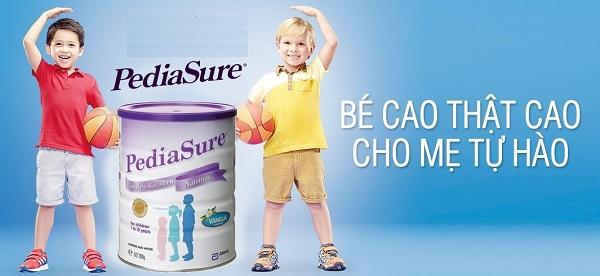 Điểm ưu việt của sữa Pediasure