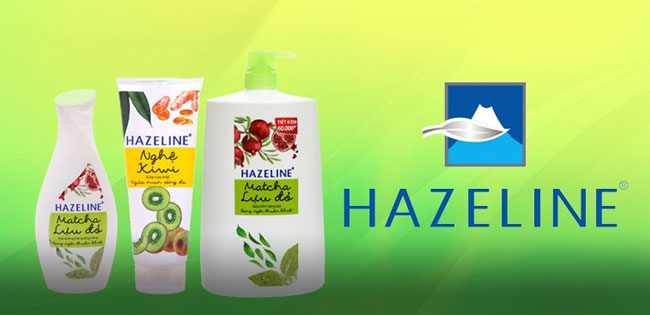 thương hiệu Hazeline