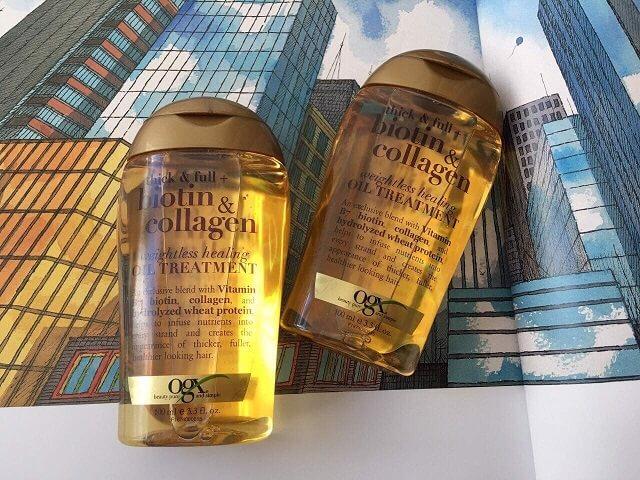 dầu gội đầu biotin collagen