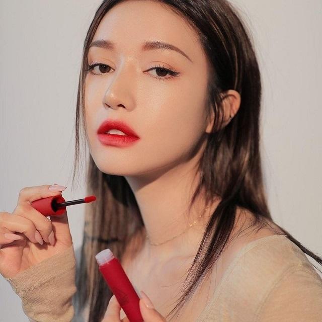 Review Son 3CE Blurring Liquid Lip