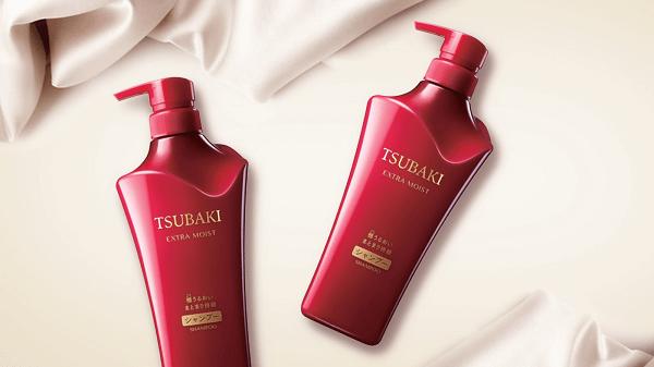 Dầu gội Tsubaki đỏ - Shiseido Tsubaki Extra Moist
