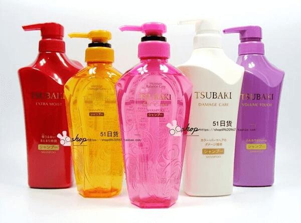 thương hiệu dầu gội Nhật Bản Tsubaki