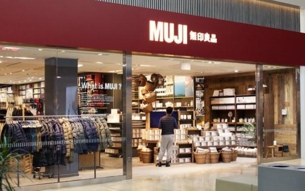 Dầu tẩy trang Muji có bán tại các store chính hãng của thương hiệu Muji