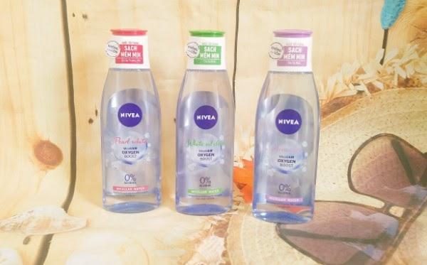 Thiết kế nước tẩy trang Nivea